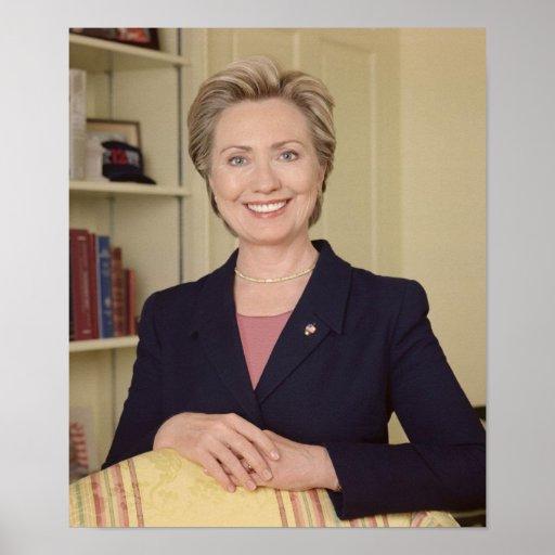 Hillary Clinton Impresiones