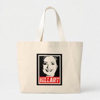 HILLARY CLINTON INK ART.png Tote Bags