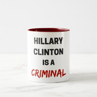 hillary clinton is a criminal mug