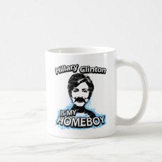 Hillary Clinton is my homeboy Coffee Mug