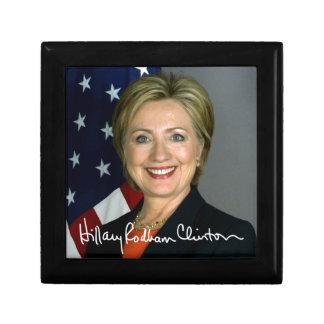 Hillary Clinton Keepsake Box