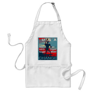 Hillary Clinton latest campaign slogan for 2016 Adult Apron