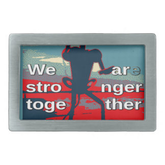 Hillary Clinton latest campaign slogan for 2016 Belt Buckle