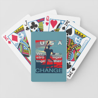 Hillary Clinton latest campaign slogan for 2016 Bicycle Playing Cards