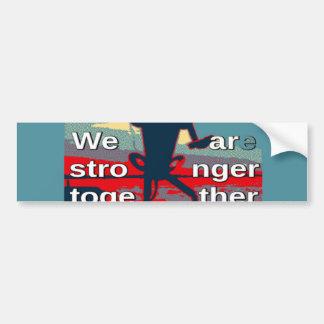 Hillary Clinton latest campaign slogan for 2016 Bumper Sticker