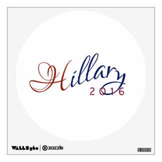 Hillary Clinton logotipo azul y rojo de 2016 de la Vinilo Decorativo