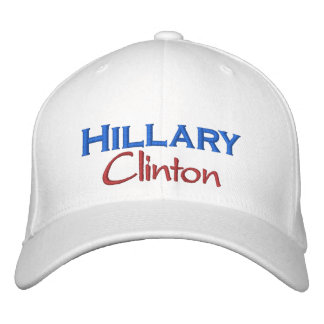 Hillary Clinton Madam POTUS Clinton White House Embroidered Baseball Hat
