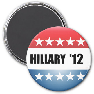 HILLARY CLINTON - 3 INCH ROUND MAGNET