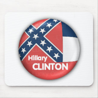 Hillary Clinton Mississippi Mousepad