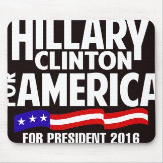 Hillary Clinton Mouse Pad
