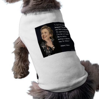 "Hillary Clinton ""My Parents & Education"" Quote Shirt"