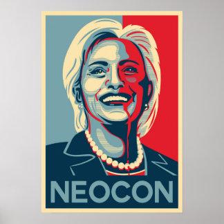Hillary Clinton - Neocon Poster