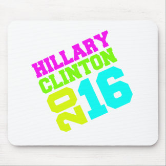 HILLARY CLINTON NEON SWAY MOUSE PAD