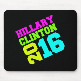 HILLARY CLINTON NEON SWAY.png Mouse Pad