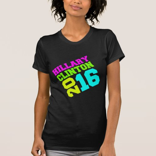 HILLARY CLINTON NEON SWAY.png T Shirts