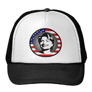 hillary Clinton: nosotros bandera: Gorros