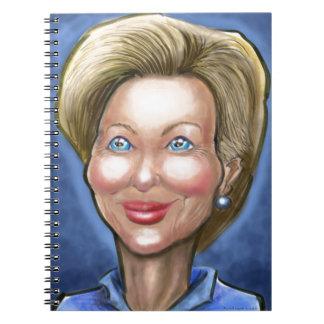 Hillary Clinton Notebook