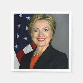 Hillary Clinton Official Portrait Napkin
