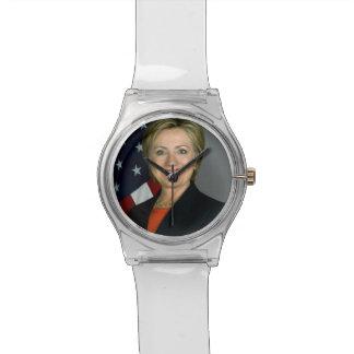Hillary Clinton Official Portrait Wrist Watches