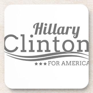 Hillary Clinton para América Posavasos