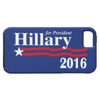 Hillary Clinton para el caso 2016 del iPhone 5 del iPhone 5 Case-Mate Cárcasas