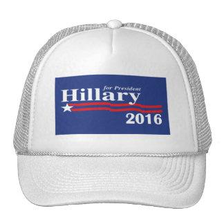 Hillary Clinton para el gorra del presidente 2016