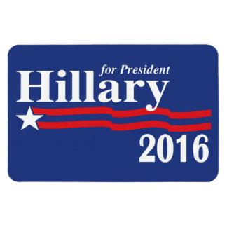 Hillary Clinton para el imán del presidente 2016