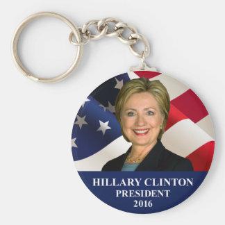 Hillary Clinton para el llavero del presidente