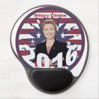 Hillary Clinton para el presidente 2016 Alfombrilla De Ratón Con Gel