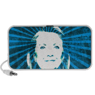 Hillary Clinton para el presidente 2016 Portátil Altavoz