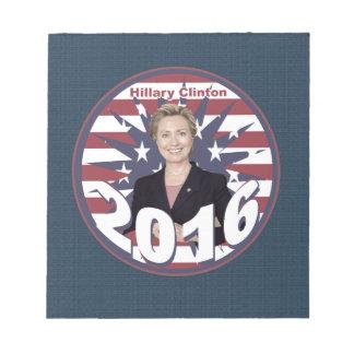 Hillary Clinton para el presidente 2016 Bloc