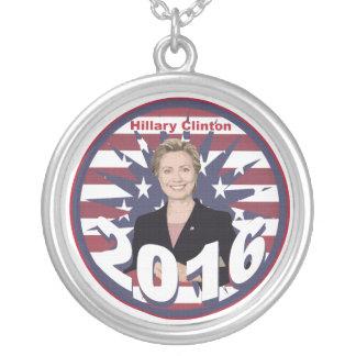 Hillary Clinton para el presidente 2016 Colgante Redondo