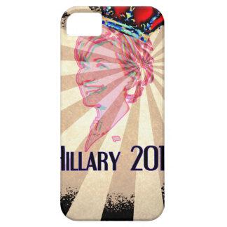 Hillary Clinton para el presidente 2016 iPhone 5 Carcasas
