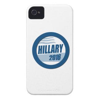 HILLARY CLINTON PARA EL PRESIDENTE 2016 iPhone 4 Case-Mate CÁRCASA