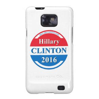 Hillary Clinton para el presidente 2016 Samsung Galaxy S2 Funda