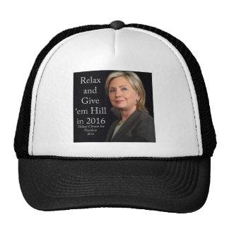 Hillary Clinton para el presidente 2016 Gorra
