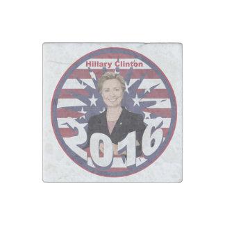 Hillary Clinton para el presidente 2016 Imán De Piedra