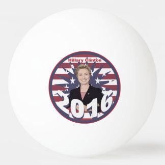 Hillary Clinton para el presidente 2016 Pelota De Ping Pong