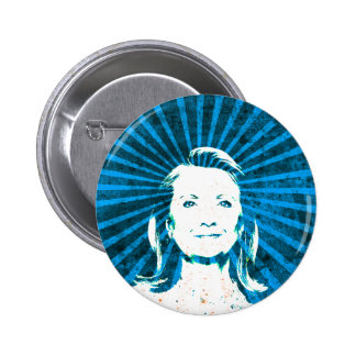 Hillary Clinton para el presidente 2016 Pins