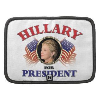 Hillary Clinton para el presidente 2016 Planificador