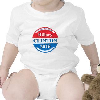 Hillary Clinton para el presidente 2016 Trajes De Bebé