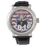 Hillary Clinton para el presidente 2016 Reloj De Mano