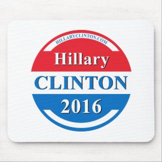 Hillary Clinton para el presidente 2016 Alfombrillas De Ratones
