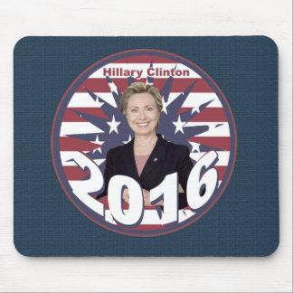Hillary Clinton para el presidente 2016 Mouse Pads