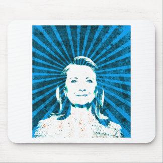 Hillary Clinton para el presidente 2016 Tapetes De Raton