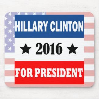 Hillary Clinton para el presidente 2016 Alfombrillas De Raton