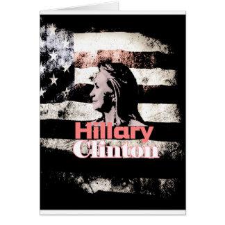 Hillary Clinton para el presidente 2016 Felicitación