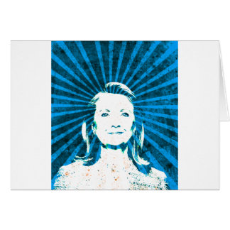Hillary Clinton para el presidente 2016 Tarjeta