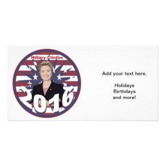 Hillary Clinton para el presidente 2016 Tarjetas Fotográficas