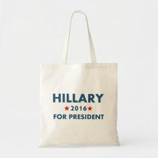 Hillary Clinton para el presidente Bolsa Tela Barata